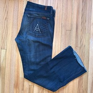 7 for all mankind | Mid-rise Ankle Flare | sz31